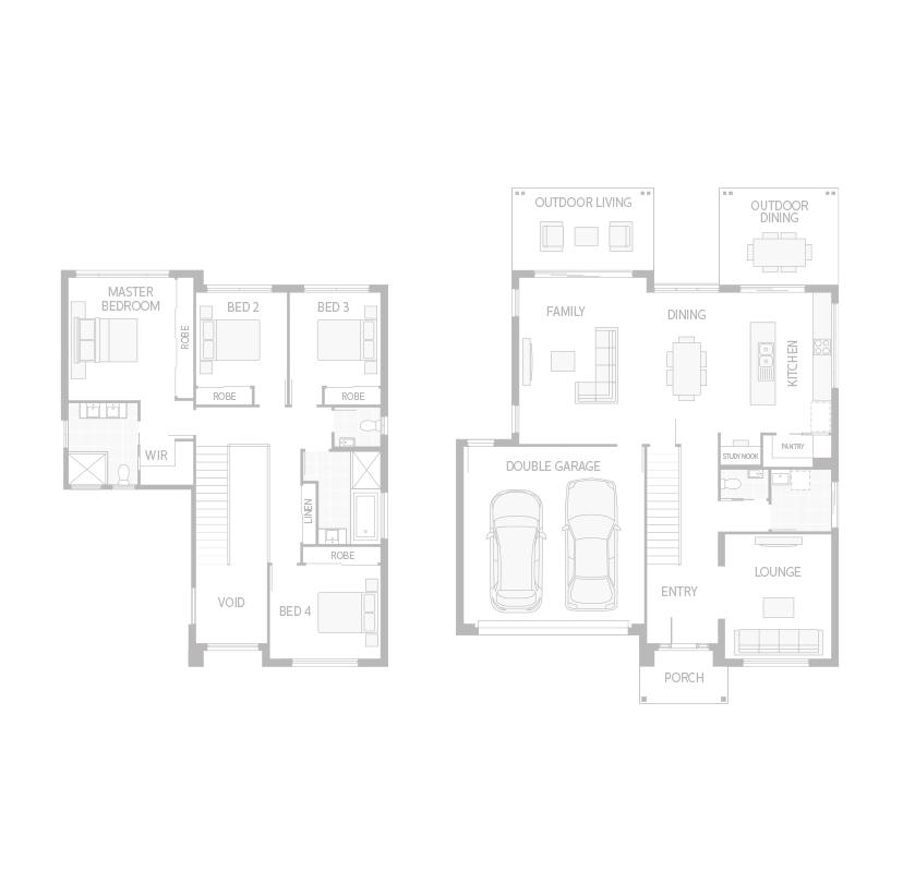 House floor plan background