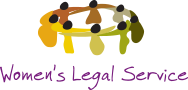 Women's legal service logo